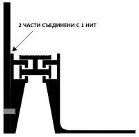 КОНСТРУКТИВНА ДЕЛАТАЦИОННА ЛАЙСТНА / РАБОТНА ФУГА CJ 50